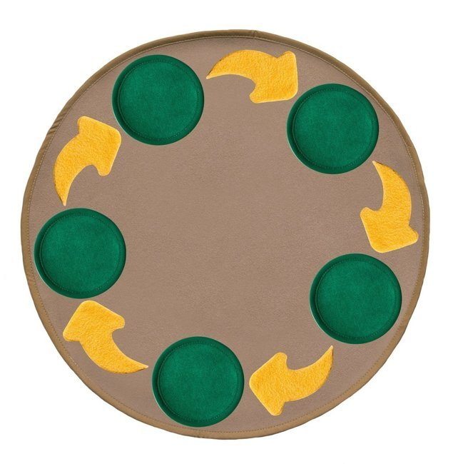 Mat set - for working with the development cycle - beige