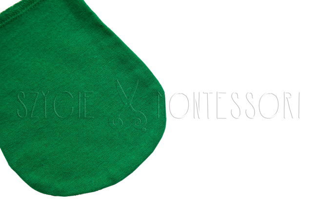 Polishing glove - different colors - green