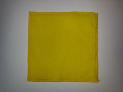 Polishing cloth - yellow